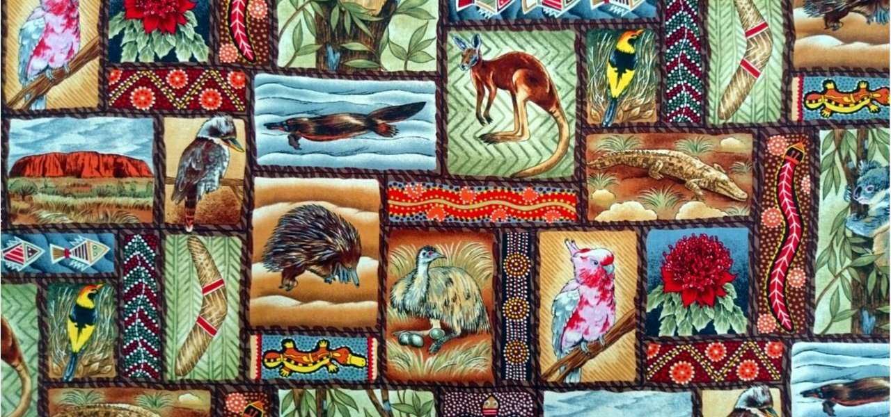 Awesome Australia Aboriginal Fabrics