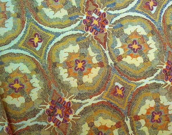 Audrey Napanangka Aboriginal Fabrics