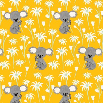 Sweet Koala Yellow